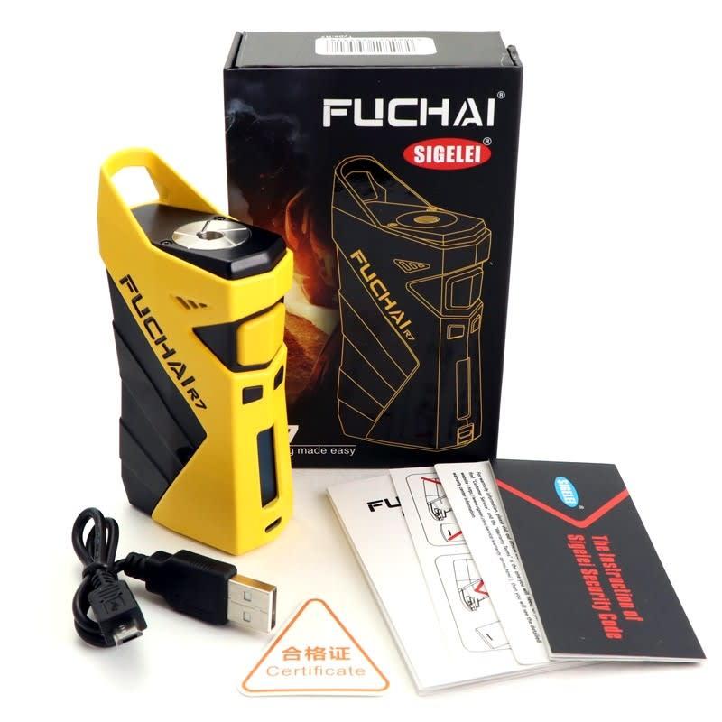 Sigelei Fuchai R7 230W TC Box Mod - YELLOW