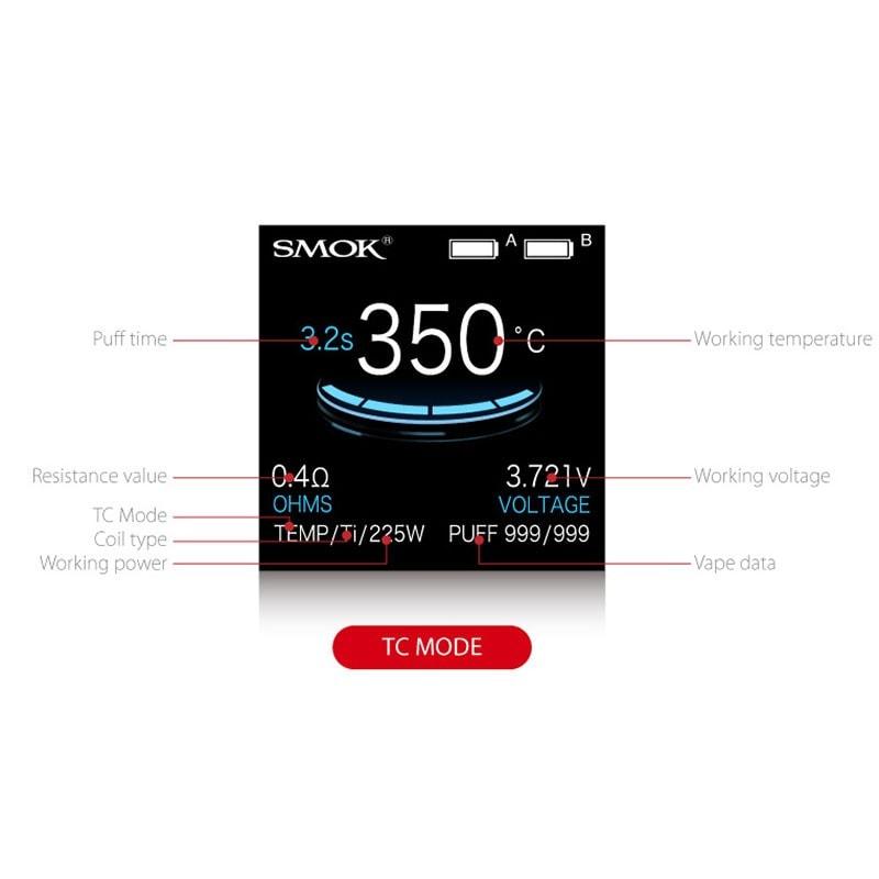 SMOK ProColor 225W - TC Mode
