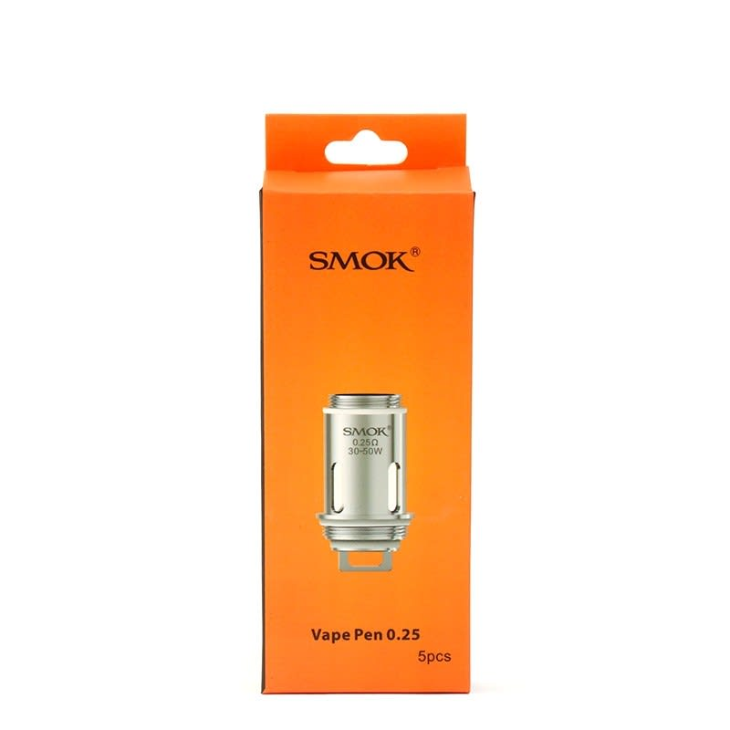 Smok Vape Pen 22 Replacement Coils (5 Pack) - 0.25ohm