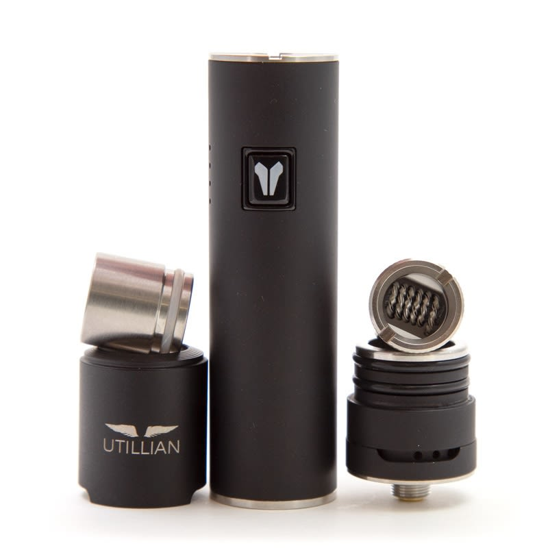 Utillian 5 Wax Vaporizer Pen - Black