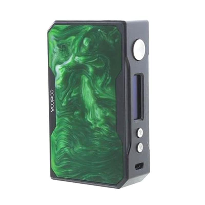 VooPoo Drag 157 TC Box Mod - Black / Green Jade Resin