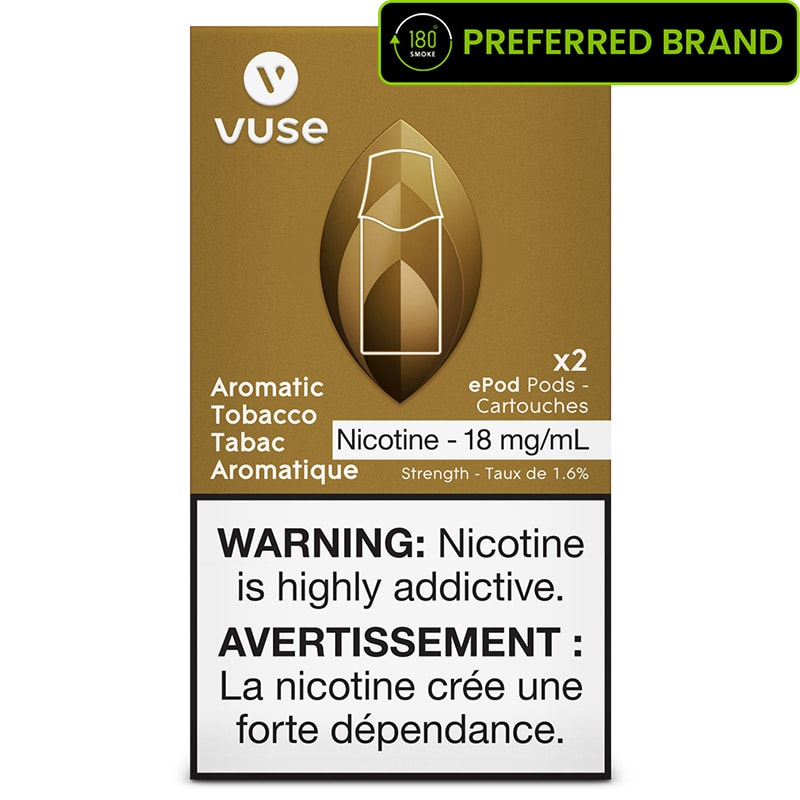 Vuse ePod Rich Tobacco Pods (2pk) - Free Device Shipping