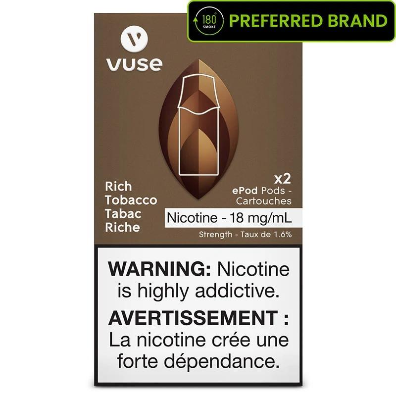 Vuse ePod Rich Tobacco Pods (2pk)