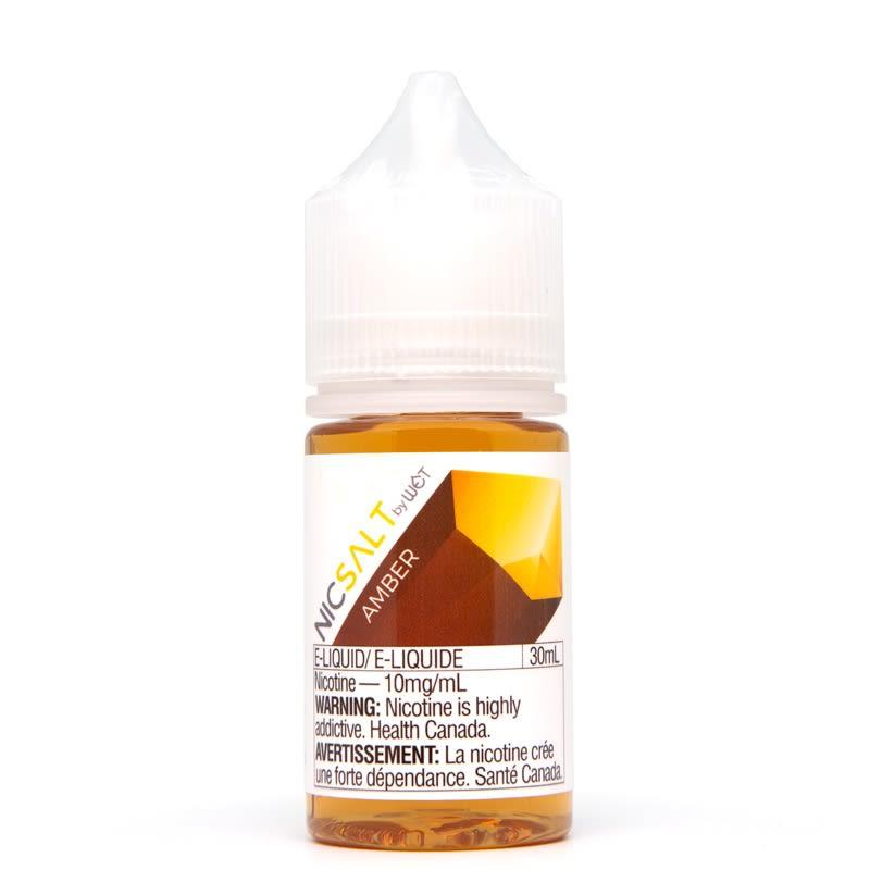 Amber Nic Salt E-liquid by WET (30mL)