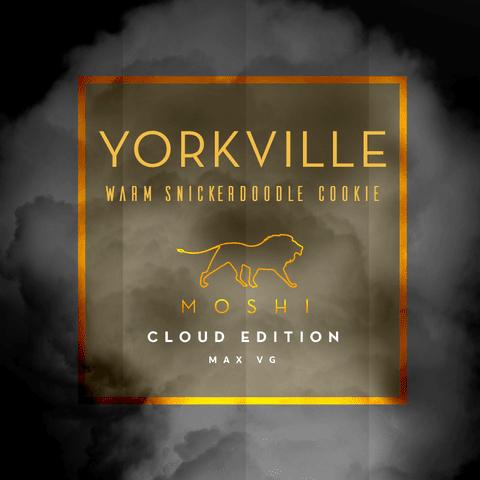 Yorkville E-liquid by Moshi - 30 ml