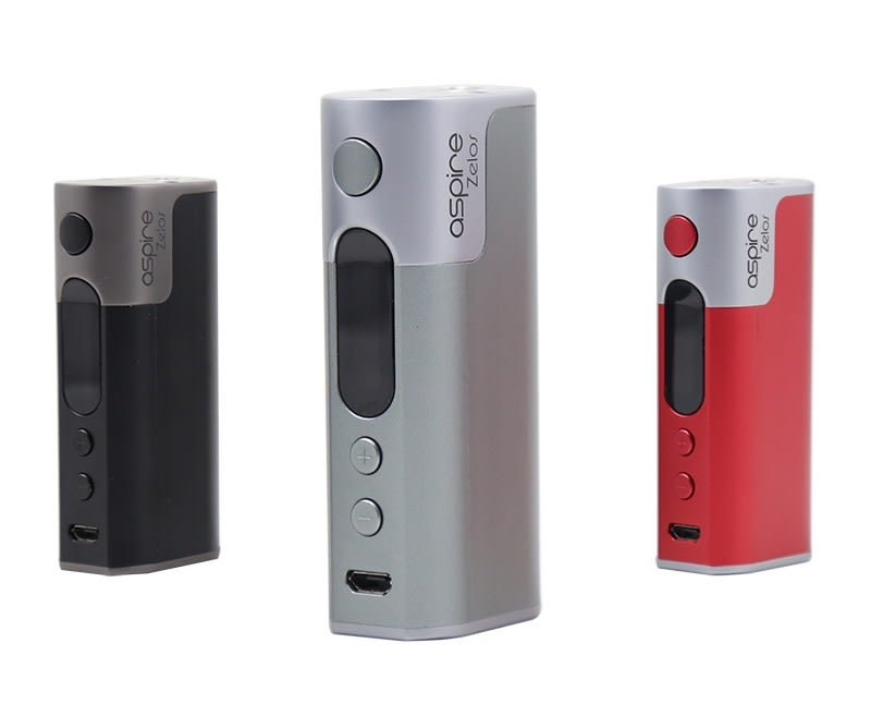 Aspire Zelos 50W Mod - All colors