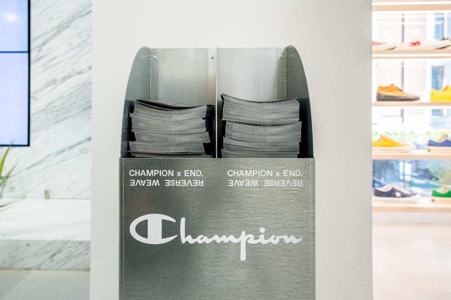 Champion x END. Zine