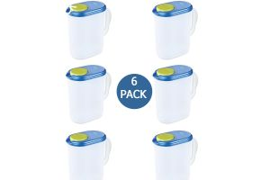 Jarra de plástico libre de BPA 1 gal ultra seal 3.8 litros