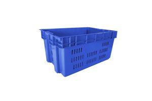 Caja de tipo industrial estilo Toronto de polietileno con capacidad de 30 kilogramos sin tapa