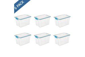 Cajón individual mediano de plástico transparente Sterilite