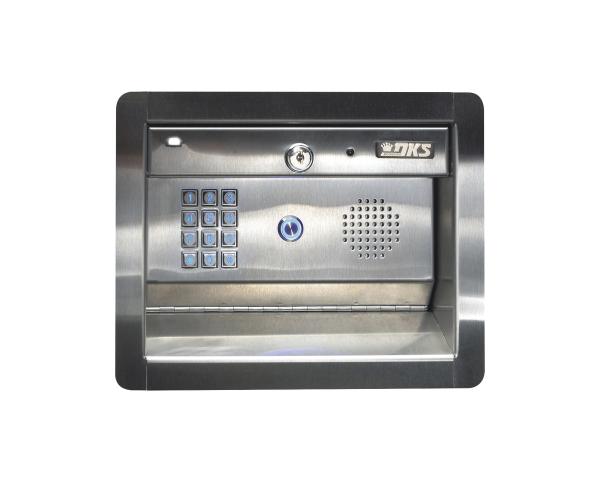 ✅ Access PLUS DKS / Atienda la puerta aún sin estar en casa! / Interfon telefónico / 27 números celulares / Control de acceso / Líneas A/D