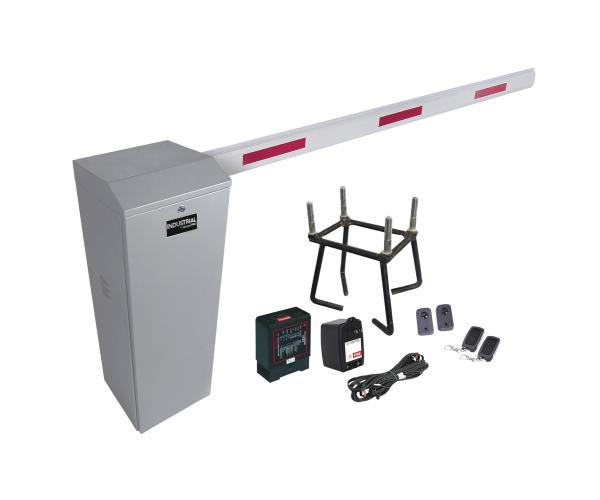 ✅ Kit de Barrera Vehicular AccessPro con brazo de 3 metros