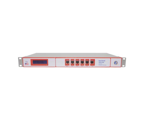 ✅ Controlador de acceso (Hotspot), hasta 1000 usuarios concurrentes, throughput LAN-WAN 4x100 Mbps