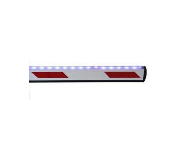 ✅ Accesorio para Barrera Vehicular, Brazo led de 4.5 metros para barrera con indicadores LED´S WEJOIN