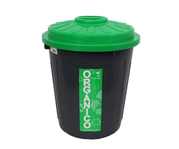 ✅ Cesto de plástico para basura, bote para orgánicos e inorgánicos, Bote De 22 litros C/Tapa