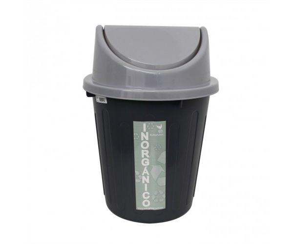 Cesto para basura orgánicos e inorgánicos con tapa, Bote De 22 litros C/Tapa Balancín