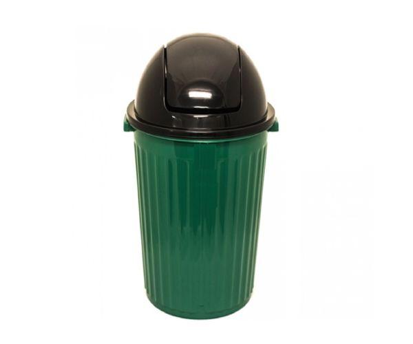 ✅ Bote ecológico orgánico e inorgánico, Bote Europlast Jumbo No. 2  Con Tapa Balancín 100 L