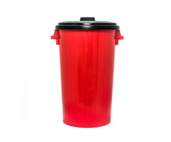 ✅ Bote de basura de plástico, Bote Europlast No. 3 C/Tapa ESPECIAL 125 Litros