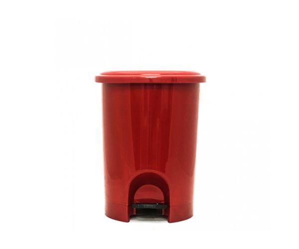 ✅ Bote de  plástico con pedal, Bote Pedal 21 L