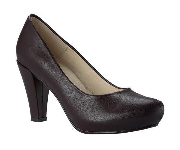 ✅ Zapato de plataforma externa con hebilla