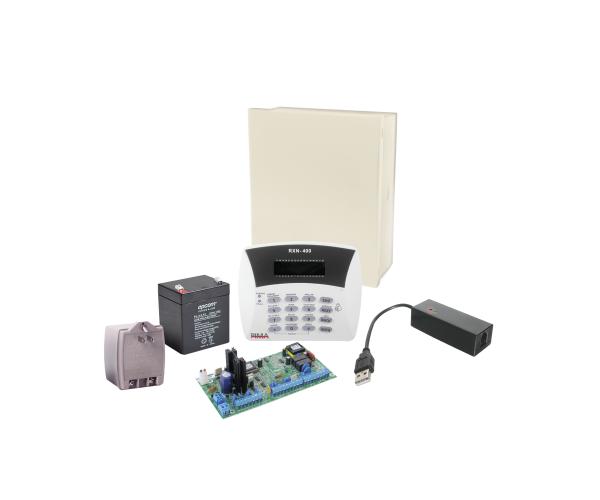 ✅ Kit de Alarma PIMA Hunter8 con modem de programación MODEMPIMA