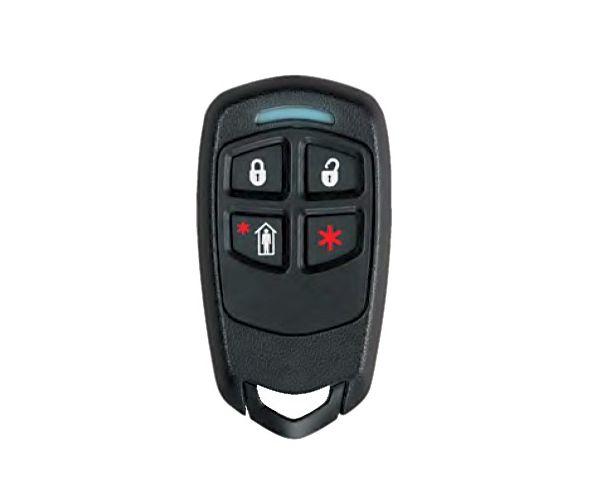 Control remoto tipo llavero de 4 botones con LED