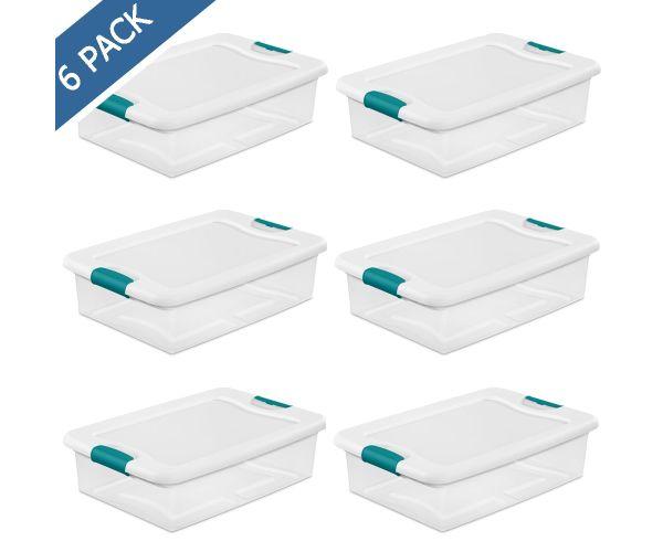 ✅ Caja plástica multiusos con identificador lateral