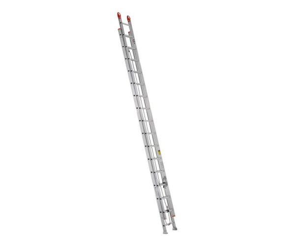 ✅ Escalera de Extensión Aluminio de 9.75 mt de altura, 32 escalones y capacidad de carga de 175 kg  T-II