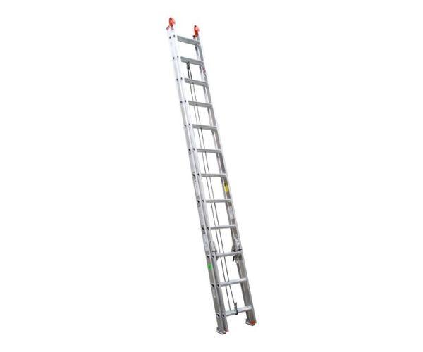 Escalera de Extensión Aluminio de 24 peldaños  y capacidad de carga de 175 kg  T-II