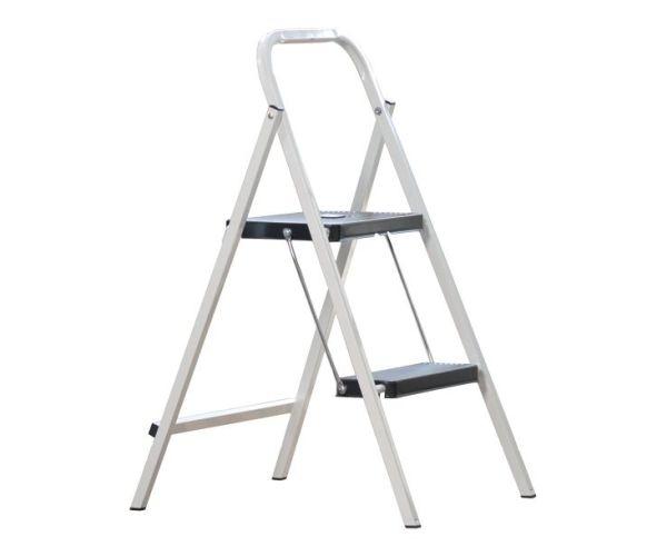 ✅ Escalerita de Acero de 2 peldaños y capacidad de carga 150 kg máx.