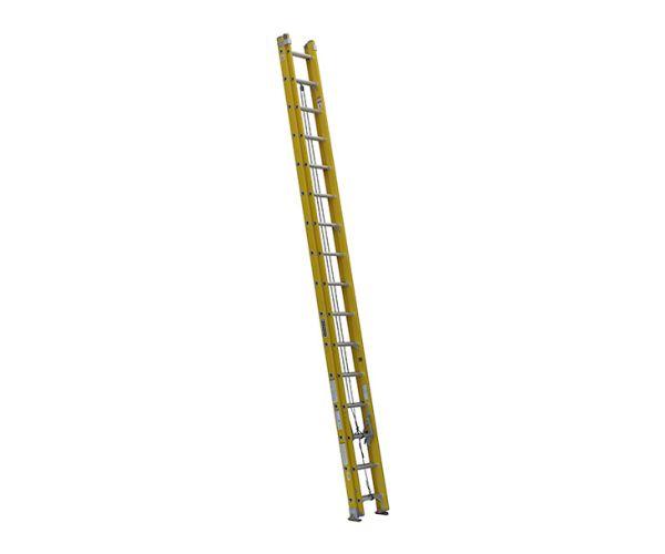 ✅ Escalera de extensión de fibra de vidrio 32 peldaños. Capacidad de carga 200 Kg.