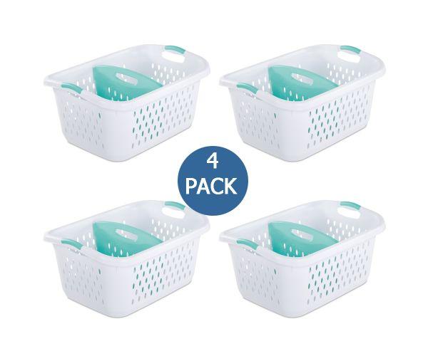 ✅ Cesto de lavanderia con 2 compartimentos