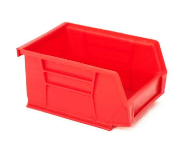 Gaveta de plástico tipo industrial  con capacidad de almacenaje de 1.5 kilogramos # 1