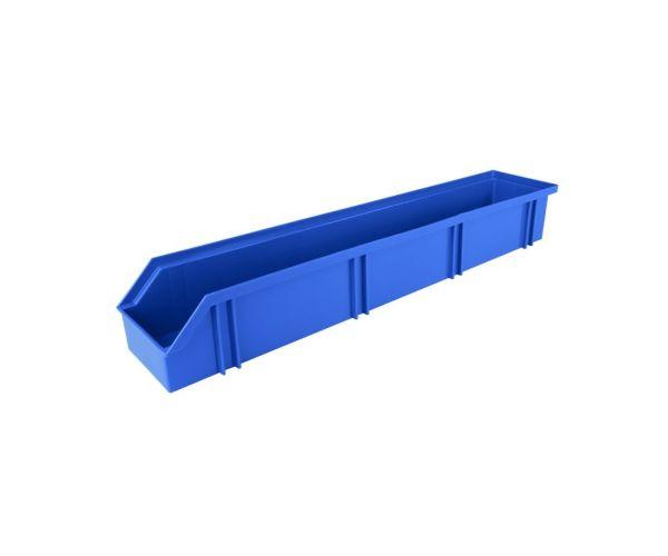✅ Gaveta angosta larga de tipo industrial de polietileno con capacidad de almacenaje de 7.5 kilogramos # 12