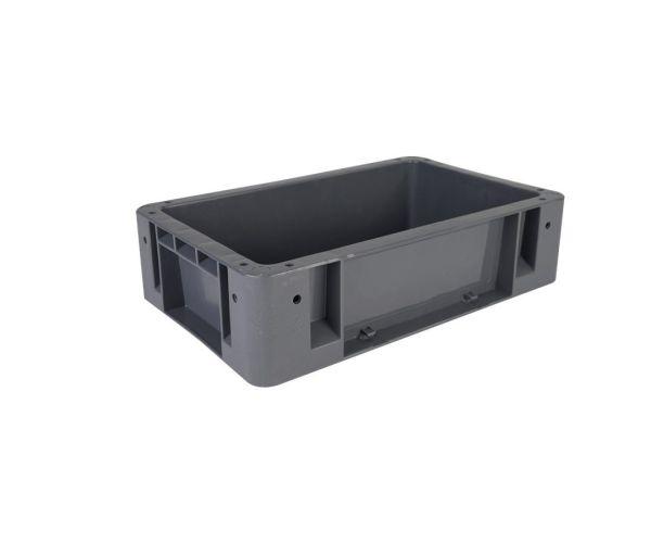 ✅ Caja de plástico de tipo industrial  con capacidad de 15 kilogramos 38x24cm  # 1