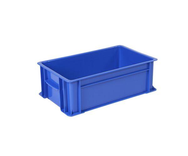 ✅ Caja de tipo industrial con diseño alto de polietileno con capacidad de 35 kilogramos, # 2