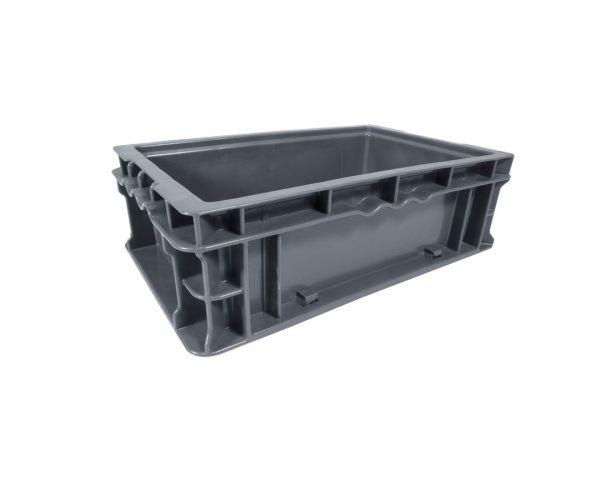 ✅ Caja de tipo industrial con diseño tier one de polietileno con capacidad de 10 kilogramos 11