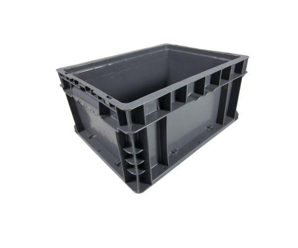 ✅ Caja de tipo industrial con diseño tier one de polietileno con capacidad de 20 kilogramos 14