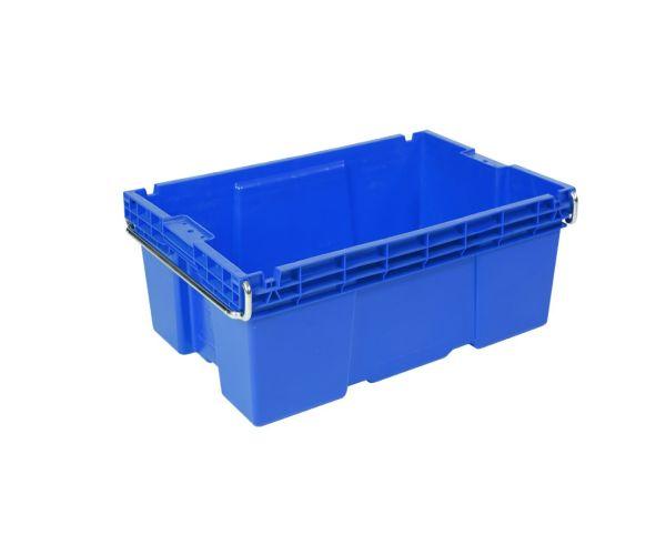 ✅ Caja de tipo industrial estilo Ottawa de polietileno alta con capacidad de 25 kilógramos
