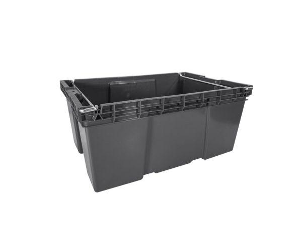 ✅ Caja de tipo industrial estilo Ottawa de polietileno con capacidad de 30 kilogramos