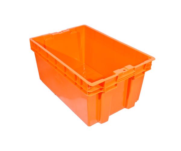 ✅ Caja de tipo industrial con estilo Toronto de polietileno con capacidad de 35 kilogramos sin tapa