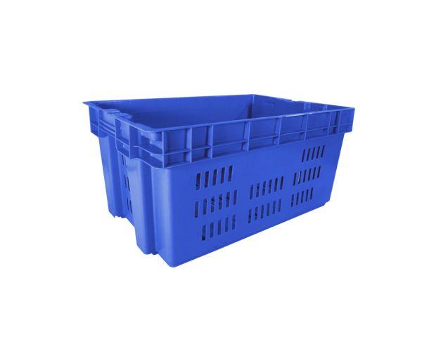 ✅ Caja de tipo industrial estilo Toronto de polietileno con capacidad de 30 kilogramos sin tapa