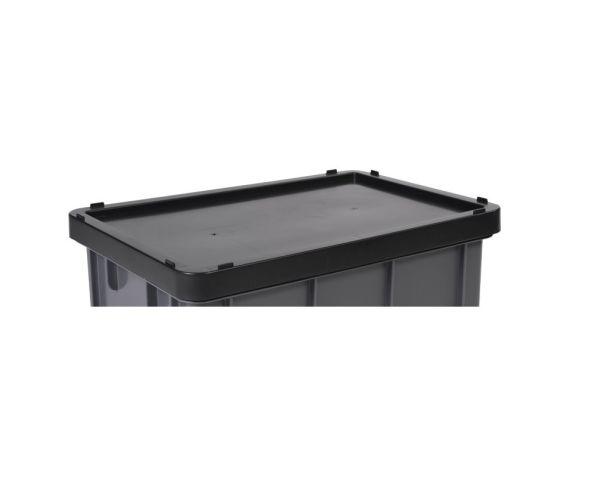 Tapa para caja quebec de color negro