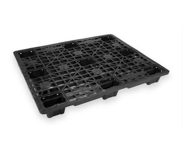 ✅ Tarima de plástico de tipo industrial  con capacidad de 600 y 1000 kilogramos