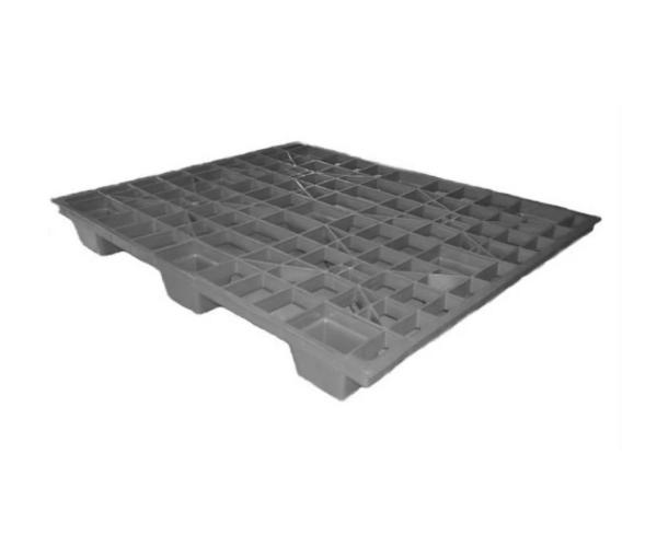 ✅ Tarima de plástico de tipo industrial  con capacidad de 1000 kilogramos 120x100cm reciclado