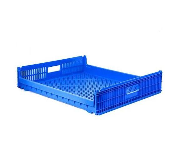 ✅ Charola estilo panamá de plástico con capacidad de 20 kilogramos 73x66cm
