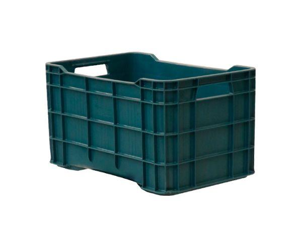 ✅ Caja de tipo agrícola estilo walterino con plástico reciclado de polietileno con capacidad de 30 kilogramos y medidas de 51x33cm