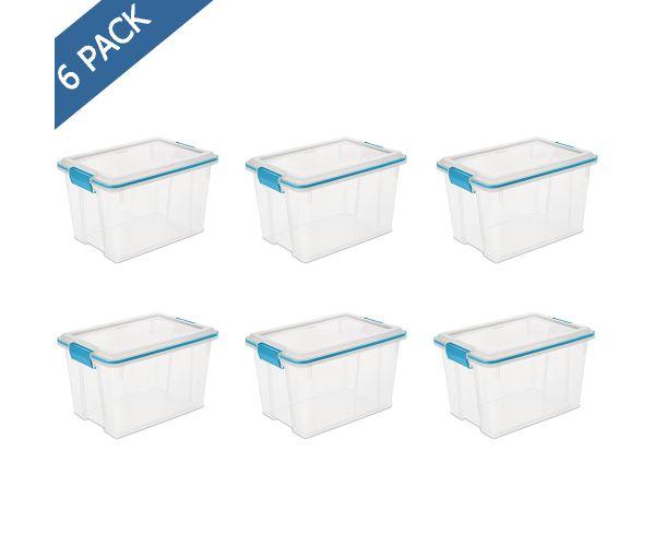 ✅ Cajón individual mediano de plástico transparente Sterilite