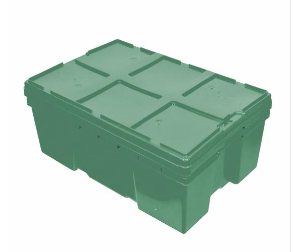 ✅ Tapa para caja de tipo industrial con plástico reciclado