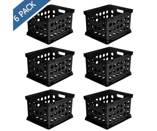 ✅ Cajón de plástico para archivo 17 x 14 x 10 pulgadas color negro Sterilite